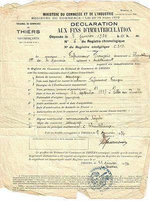 registre du commerce 1934-3